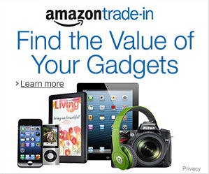 Find the value of your Gadgets - Turn in your used items for an Amazon Gift Card.