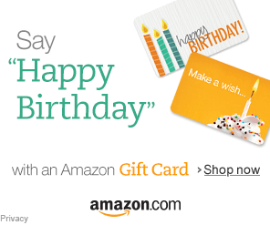 Happy Birthday Amazon Gift Card
